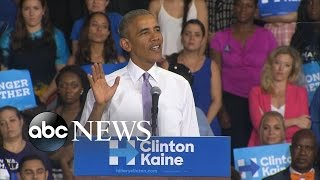 Obama Campaigns for Hillary Clinton in Florida - ABCNEWS