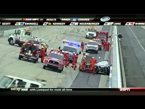 Huge Crash and Wild Finish at Dover 2011 NASCAR Nationwide Series 5-Hour Energy 200
