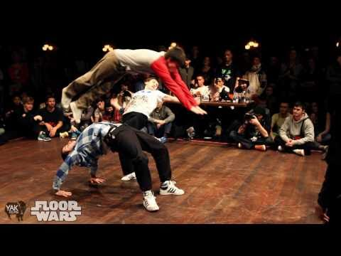 FLOOR WARS 2011 | 3on3 Bboy Battle Recap | YAKFILMS