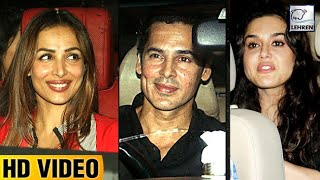 Neha Dhupia's Birthday Bash 2017 FULL VIDEO | Malaika, Soha Ali Khan| LehrenTV