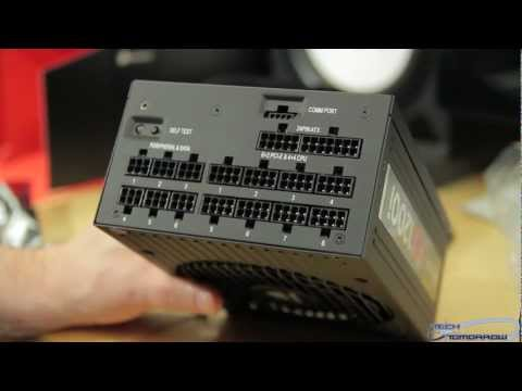 Corsair AX1200i Digital ATX 1200W Fully-Modular Power Supply Unboxing