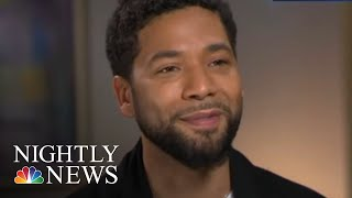 Jussie Smollett Speaks Out For First Time Since Alleged Attack | NBC Nightly News - NBCNEWS