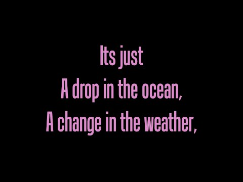 Ron Pope A Drop In The Ocean lyrics