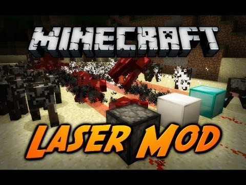 Minecraft Laser Mod Pt. 1