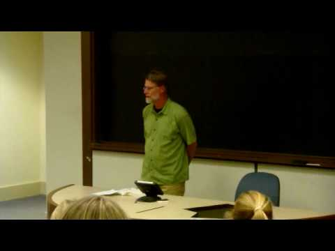 Last Lecture Series English Professor James Warren