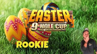 Golf Clash tips, Playthrough, Hole 1-9 - ROOKIE - Easter 9-Hole Cup!