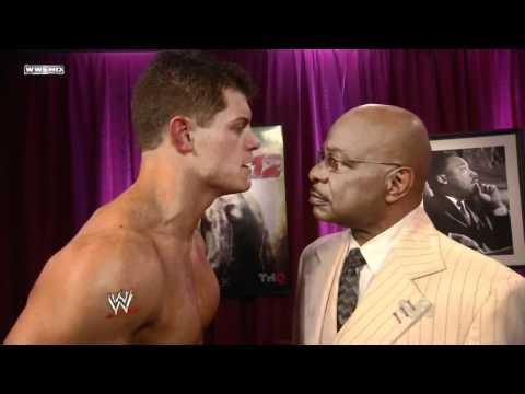 720pHD - WWE SmackDown 12/09/11 Aksana & Cody Rhodes Backstage Segment