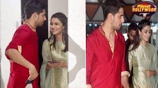 Alia - Sidharth Put All Break-up Rumors To Rest At Ekta's Diwali Bash?   Bollywood News - ZOOMDEKHO