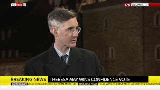 Theresa May faces no confidence vote - SKYNEWS