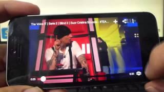 como se ve youtube en el iphone 5S 5C 5 4 iOS 7 espa?ol Channeliphone