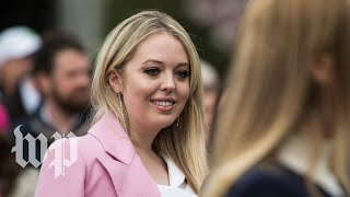 Tiffany Trump remains publicly apolitical at Georgetown Law - WASHINGTONPOST
