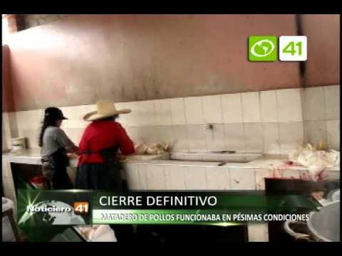 Clausuran matadero de pollos que funcionaba en pésimas condiciones - Trujillo