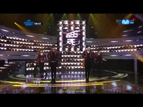[Legendado] 140614 CROSS GENE - La-Di Da-Di @ M!Countdown