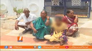 Women Protest In Front Of Lover House In Sangareddy | iNews - INEWS