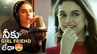 Actress Aditi Rao Hydari Dubbing For Sammohanam Movie | TFPC - TFPC