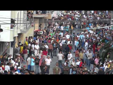 Banos Equador Carrera de Coches de madera 2011 accidente