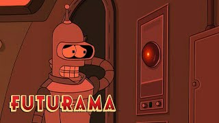 FUTURAMA | Season 4, Episode 4: Bender's Breakup | SYFY - SYFY