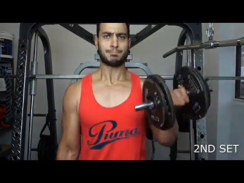 BEST BICEP WORKOUT BEGINNER TO ADVANCED FOR HUGE ARMS