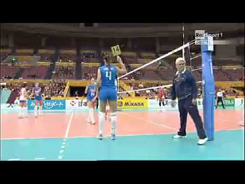 2010 Women's Volleyball World Championship Italy 2x3 Cuba