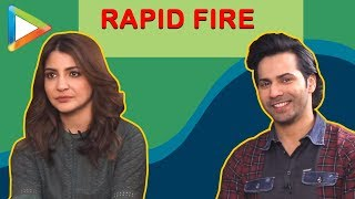 Varun Dhawan & Anushka Sharma's SUPER-LIT RAPID FIRE | Sui Dhaaga - HUNGAMA