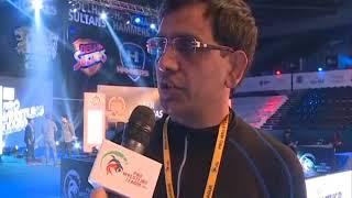 PWL 3 Day 11: Referee Ashok Kumar speaks over the Pro Wrestling League 2018 season 3 - ITVNEWSINDIA
