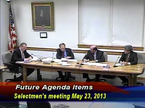 Sherborn Selectmen's Meeting of May 23, 2013