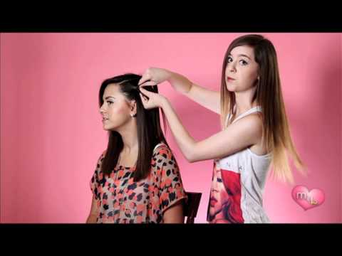 """How-To: Waterfall Braid"" Megan and Liz on Style"