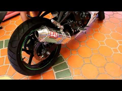 2010 Kawasaki Ninja 250R - Yoshimura Slip-on Exhaust