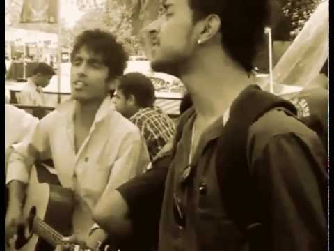Guys singing Sajini(Jal) on Guitar - Awesome Performance