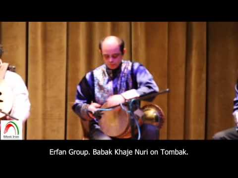 Meet Iran Exclusive: Traditional Iranian music by Erfan Group. Babak Khaje Nuri on Tombak.