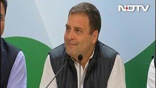 कांग्रेस अध्यक्ष राहुल गांधी बोले, सरकार बनते ही किसानों का कर्ज माफ होगा - NDTVINDIA