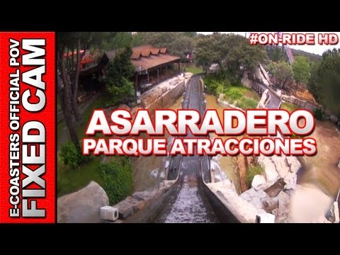 El Aserradero - Parque de Atracciones Madrid | On-Ride (ECam HD)
