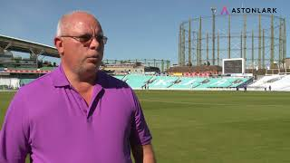 Colin Mico speaks about About Aston Lark - CRICKETWORLDMEDIA