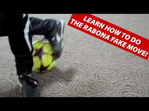 How To Play Soccer | The Rabona Fake Soccer Football Move