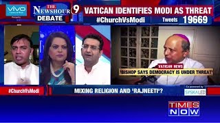 Newshour debate: Was the archbishop motivated by agenda? - TIMESOFINDIACHANNEL