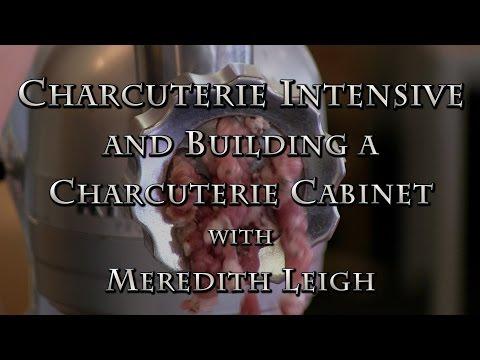 Charcuterie Intensive & Building A Charcuterie Cabinet