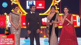Tammanna, Trisha, Shriya about Simbu || SIIMA 2014 Awards - IDREAMMOVIES