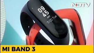 Taking the Mi Band 3 for a Spin! - NDTV