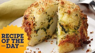 Recipe of the Day: Roasted Stuffed Cauliflower | Food Network - FOODNETWORKTV