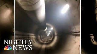 Elon Musk Says His First Tunnel Will Open In December | NBC Nightly News - NBCNEWS