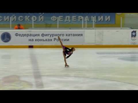 Julia LIPNITSKAYA SP Russian National Juniors 2010 (HQ)