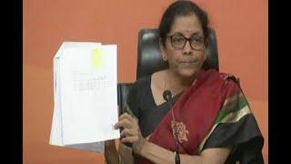 In Graphics: PNB scam: nirmala sitaraman attacks on rahul gandhi - ABPNEWSTV