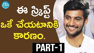 Hero Aadi Exclusive Interview Part #1 || Talking Movies With iDream - IDREAMMOVIES