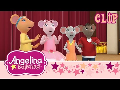 Angelina Ballerina: The Ghost in the Auditorium - UK