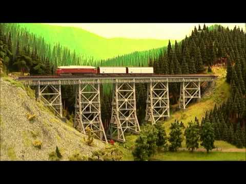 Compilation of European Model Train Layouts #3