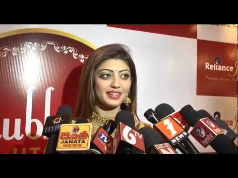 Pranitha Subhash  Actress   Reliance Jewels