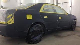 Быстрая подготовка и покраска Авто