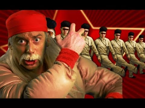 Hulk Hogan VS Kim Jong-il - Epic Rap Battles of History 5