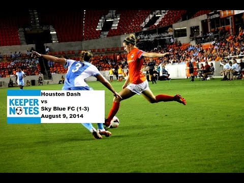 Post-game Interviews - Dash vs Sky Blue FC - 08/09/2014