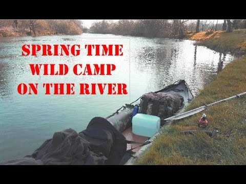 AWAY FROM THE RAT RACE Part 1. Spring Time 2 Day Canoe Bug Out
